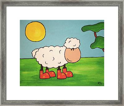 Sheeep Framed Print