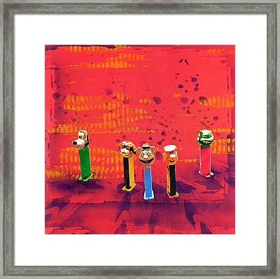 Simple Things In Life Make Me Smile Framed Print by Tai Taeoalii