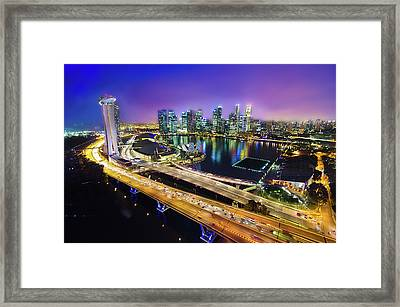 Singapore Flyer Framed Print by You can view more of my images at www.on9cloud.com