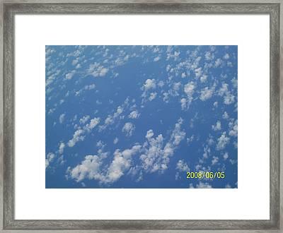 Sky High Framed Print by Rishanna Finney