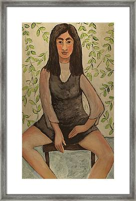 Slyvia Framed Print by Clarence Major