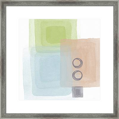 Soothing Harmony 2- Art By Linda Woods Framed Print