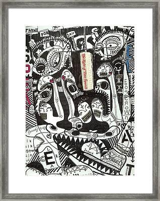 Speak Out Framed Print by Robert Wolverton Jr