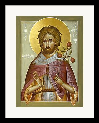 St Euphrosynos The Cook Framed Prints