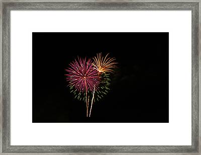 Framed Print featuring the photograph Starburst by Larry Bishop
