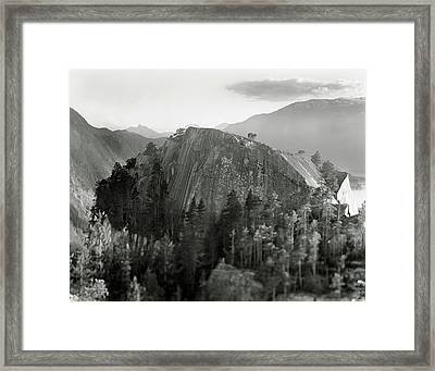Stawamus Chief, Squamish, British Columbia, Canada, Tilt-shift Framed Print by Brian Caissie