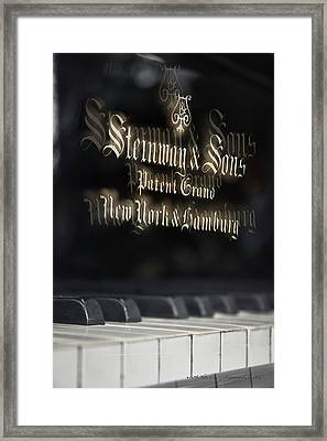 Steinway Original Grand Framed Print by Vicki Ferrari