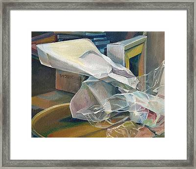 Still Life No.3 Framed Print by Julie Orsini Shakher
