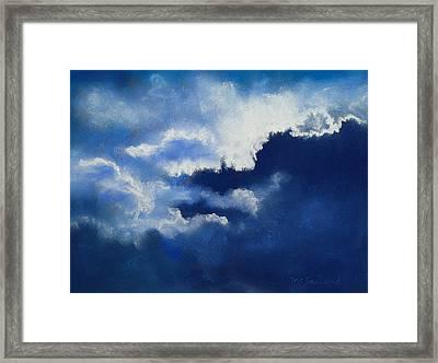 Stormy Sky Framed Print by Lorraine McFarland