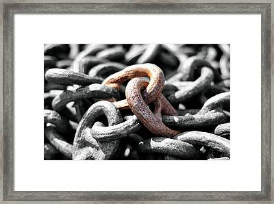Stronger Together Framed Print by Joanne Brown