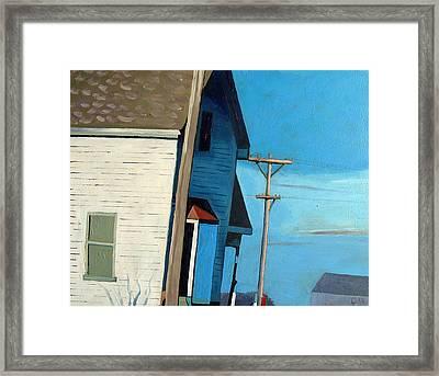 Sunny Sideup Framed Print by Charlie Spear