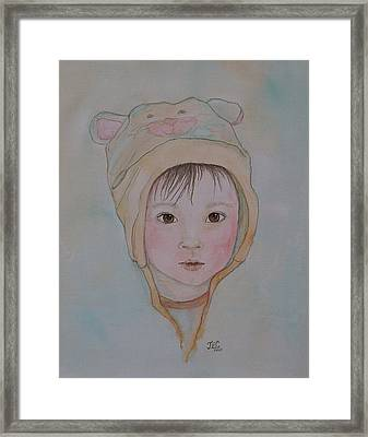 Framed Print featuring the painting Sweet Baby by Jane Chesnut