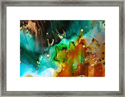 Symphony - Six Framed Print by Mudrow S