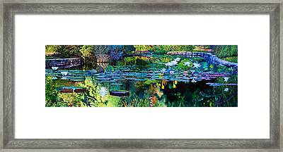 The Abstraction Of Beauty One And Two Framed Print