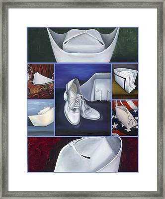 Framed Print featuring the painting The Art Of Nursing II by Marlyn Boyd