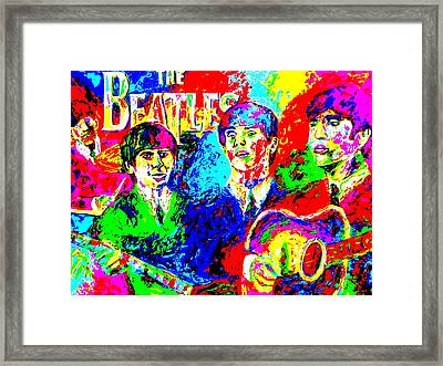 The Beatles Framed Print by Mike OBrien