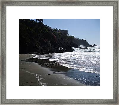 The Beauty Framed Print by Sylvia  Pekarek