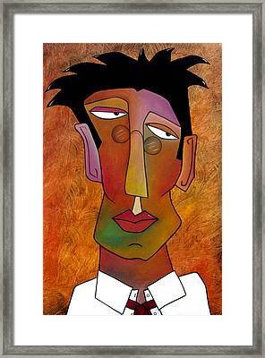 The Boss Framed Print by Tom Fedro - Fidostudio
