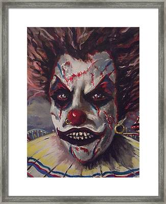 The Enforcer Framed Print