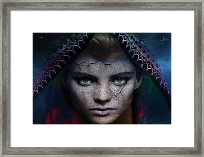 Framed Print featuring the digital art The Eye Of The Soul by Shadowlea Is