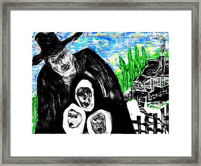 The Family Man Framed Print by Rc Rcd