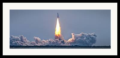 Sts-135 Framed Prints