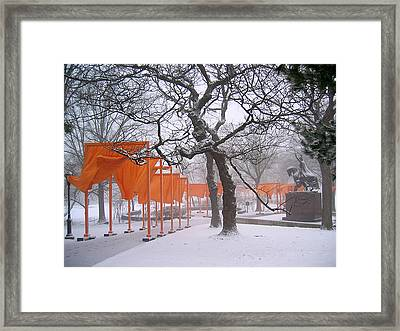 The Gates And The Polish King Framed Print by Cornelis Verwaal