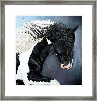 The Grafter Framed Print by Caroline Collinson