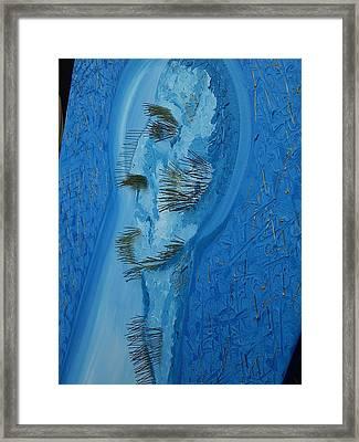 The Indifferent Of Beholder -fragment Framed Print by Svetlana Vinokurtsev
