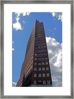 The Kollhoff-tower ...  Framed Print