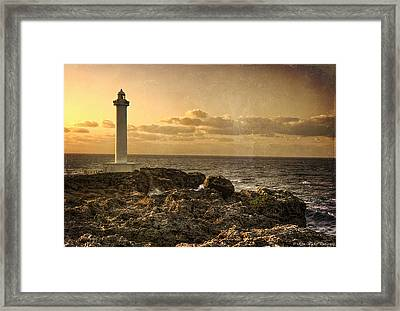The Lighthouse Framed Print by Ryan Wyckoff