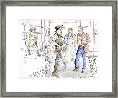 The Man Who Shot Liberty Valance, 1962 Framed Print