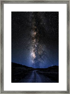 The Milky Road Framed Print by Larry Landolfi