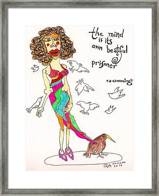 The Mind Framed Print by Tex Norman
