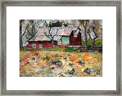 The Morrison Palace Framed Print by Charlie Spear