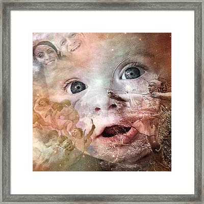 The Prophet On Children Framed Print