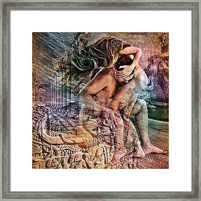 The Prophet On Giving Framed Print by Barry Novis