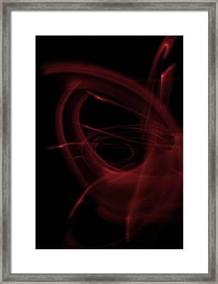 The Rose Framed Print by Xn Tyler