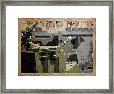 The Storming Of Berlin Framed Print by Josh Bernstein