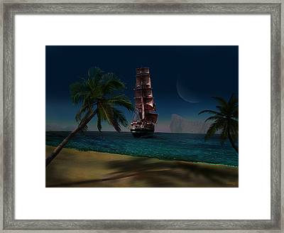 The Trip Framed Print