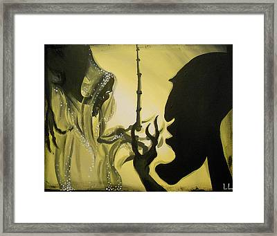 The Wand Of Destiny Framed Print