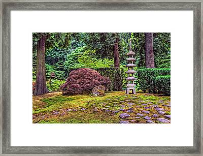 This Is Oregon State No.23 - Sea Of Rocks Framed Print by Paul W Sharpe Aka Wizard of Wonders