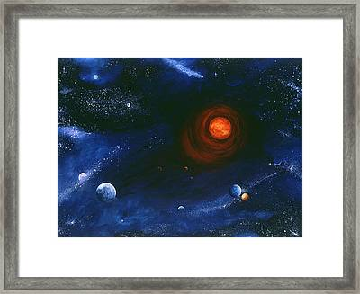 Threnody Framed Print by Laura Swink