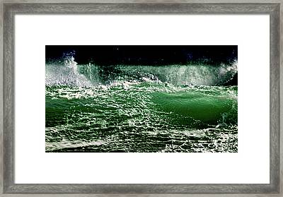 Tide Framed Print