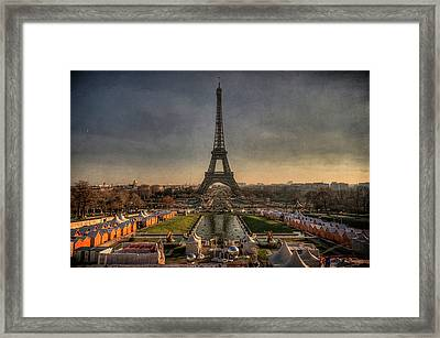Tour Eiffel Framed Print by Philippe Saire - Photography