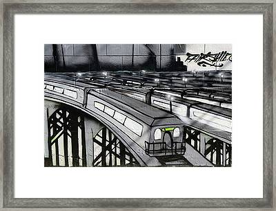 Transporters Framed Print by Bob Christopher