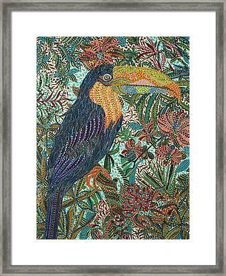 Tropican Framed Print by Erika Pochybova