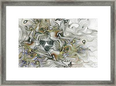 Framed Print featuring the digital art True Enough by NirvanaBlues