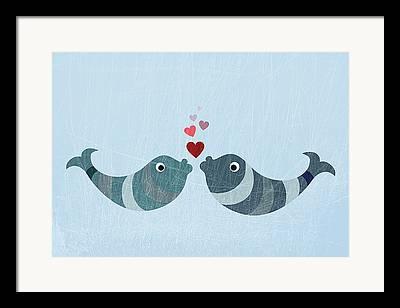 Animal Themes Digital Art Framed Prints