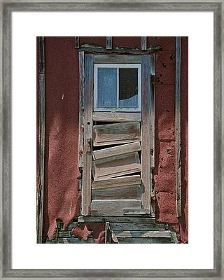 Unlocked Framed Print